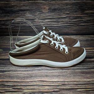 KEDS Mule Brown Earthy Slide On Sneakers 6.5
